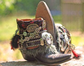 Personalizzato vintage boho nero tribale di TheLookFactory su Etsy