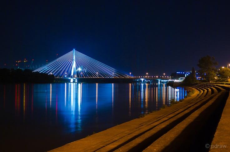 Świętokrzyski bridge, Warsaw by Pablo DV