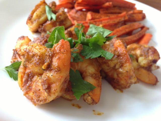 Shrimp Vindaloo - used 1/2t cayenne could be spicier, got good feedback.