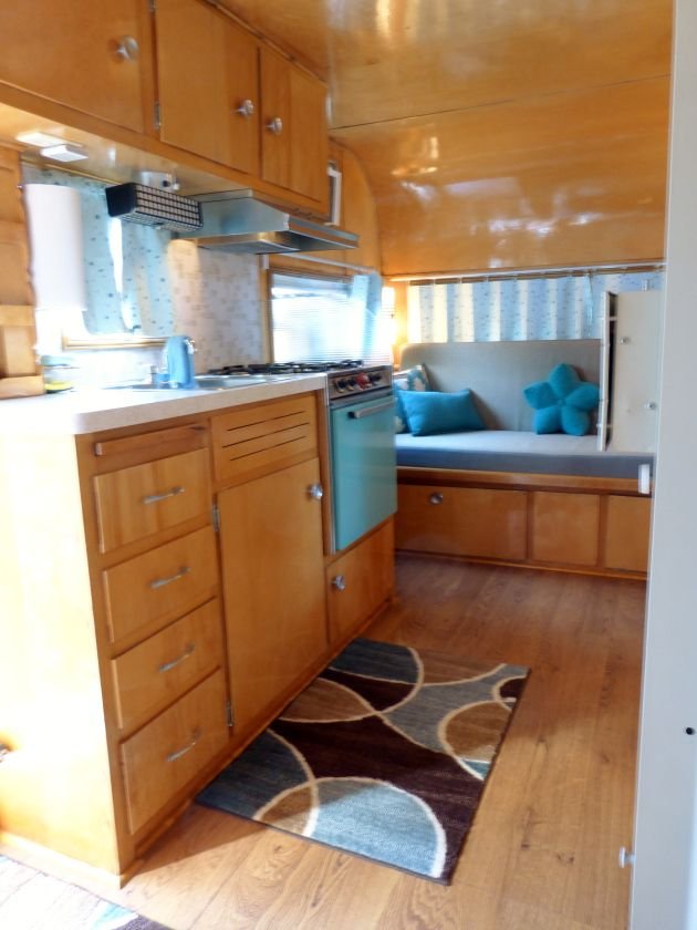 358 best Trailer Interiors images on Pinterest Vintage caravans