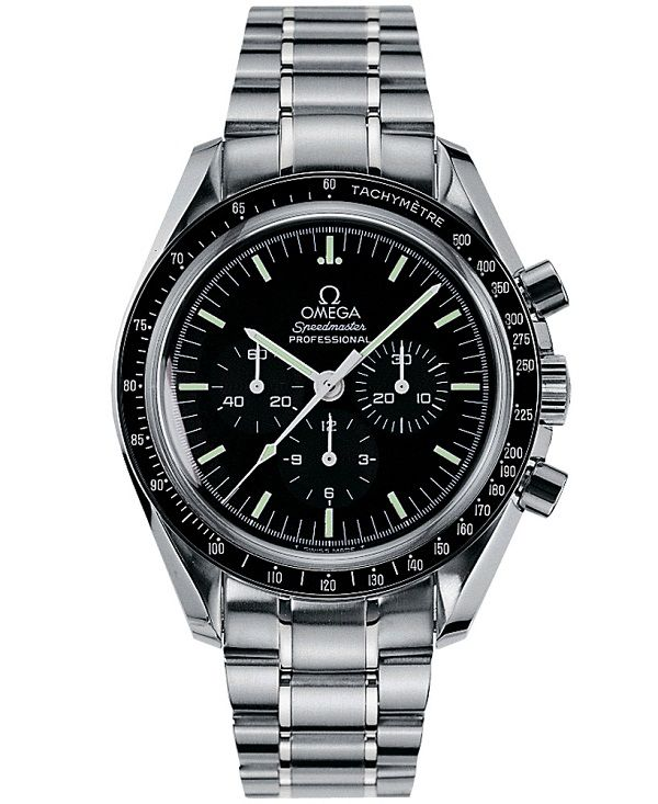 Omega Speedmaster, 1960s. The Omega Speedmaster was good enough for NASA and one was strapped to Buzz Aldrin for his 1969 moonwalk.