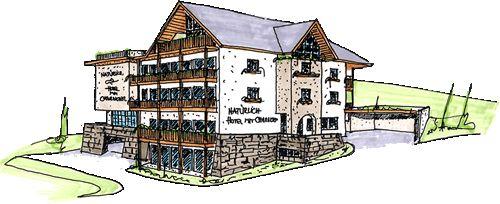 Schets van Hotel Natürlich in uw wintersport dorp in Tirol, Oostenrijk (4 sterren hotel)