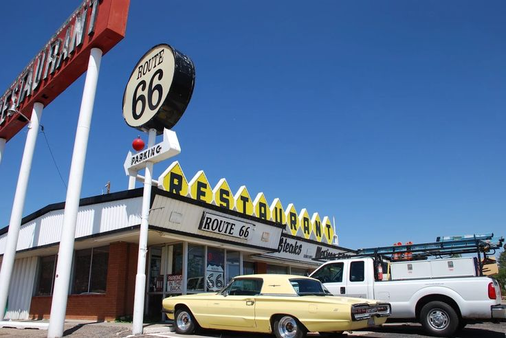 "Photo: "" Route 66 Restaurant "" in Santa Rosa New Mexico  "" Route 66 on My Mind "" http://route66jp.info Route 66 blog ; http://2441.blog54.fc2.com https://www.facebook.com/groups/529713950495809/"