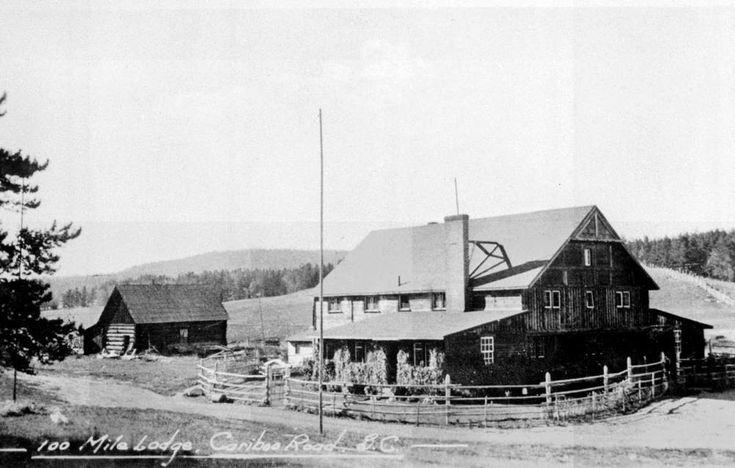 100 Mile Lodge, Cariboo Road B.C.