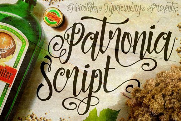 Patronia Script by Twicolabs Fontdation on @creativemarket