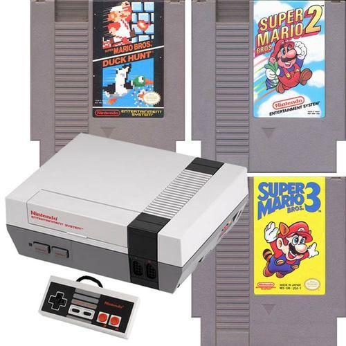 NES System Mario 123 Bundle Pak | DKOldies.