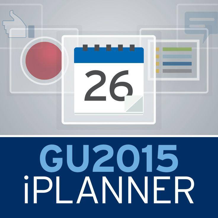ASCO GU 2015 - Icon Example in the EventPilot Conference App.