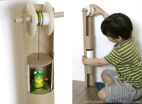 Mama's brand: Лифт для игрушек