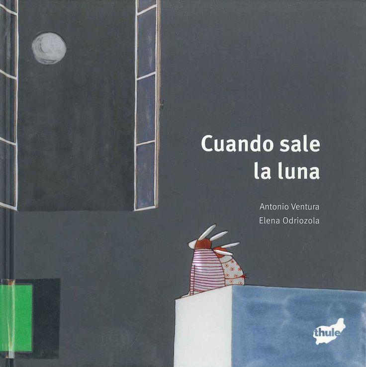 """""""Cuando sale la luna"""" Antonio Ventura y Elena Odriozola."""