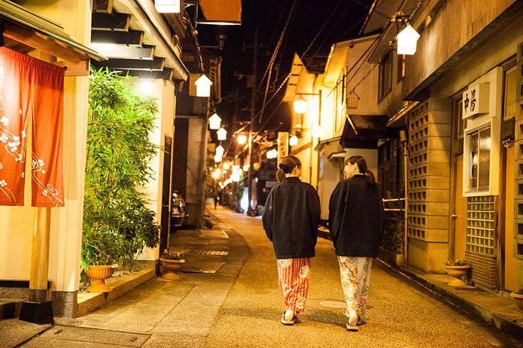Misasa Hot Spring's, Tottori