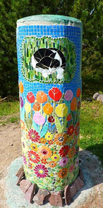 The 412 best Mosaics - flora & fauna images on Pinterest   Mosaic ...
