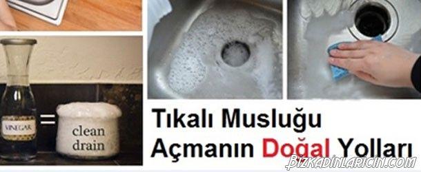 Tıkalı Lavabo Nasıl Açılır? - http://www.bizkadinlaricin.com/tikali-lavabo-nasil-acilir.html  Musluk tıkanması her evde karşılaştığımız sorunlardandır.Tıkalı lavabo gideri nasıl açılır? makalemizde pratik ve kolay çözümlere yer verdik. 1.yöntem Malzemeler Yarım su bardağı karbonat 1 bardak sirke 1-1,5 lt sıcak su Uygulanışı Sıcak suyu tıkanmış lavaboya dökün. Musluğun tıkacını takın. Karbonatı da musluğa dökün. Sirke ile 1 su