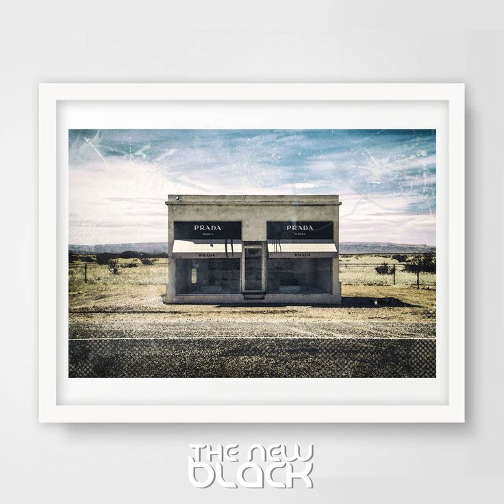 Printable artwork for your home or office.  Works great for just about any print size.  #prada #pradamarfa #photography #fashion #trendy #glamour #print #desert #moda #paris #newyork #painting #watercolor #unique #shoes