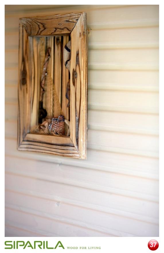 Re-pinnaa kuva ja osallistu Siparilan kuvalottoon 21.5. – 17.6.2012! Lisäinfoa Siparilan Pinterest-sivulta. Kuvassa: KAJO sisustuspaneeli STP 15x95 valeuralla.