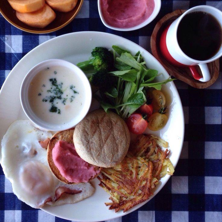 Breakfast.朝ごはん。