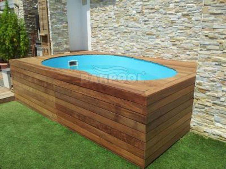 M s de 1000 ideas sobre mini piscina en pinterest - Piscina prefabricada pequena ...