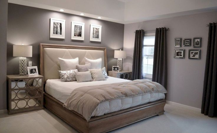 Romantic Master Bedrooms Concept Remodelling Photo Decorating Inspiration