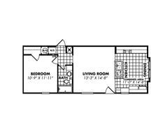 Dc4caaee33a9a26e27483f7ed4401d45 Jpg 236 179 Mobile Home Floor Plans House Floor Plans Single Wide Mobile Homes
