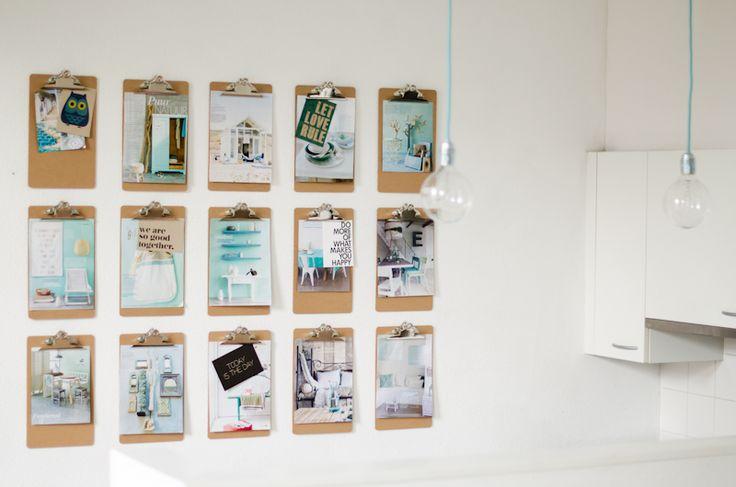 DIY | Klemborden aan de wand – Stijlvol Styling - WoonblogStijlvol Styling – Woonblog
