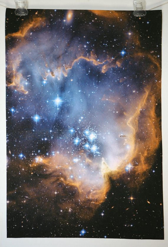 Fabric printed with images from the hubble telescope.: Fabric Infant, Printable Cotton, Infant Stars, Hubble Photograph, Eq Printable, Stars Hubble, Astronomy Fabric
