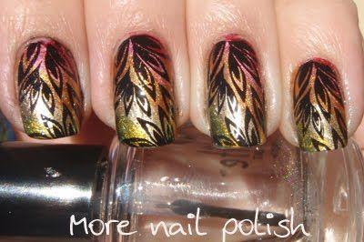 Autumn gradient with stamping: Nail Polish, Polish Nails, Gorgeous Mani, Art Ideas, Nails Ideas, Nails Polish, Nails Artista, Nail Art, Art Competition
