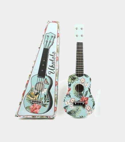 ukulele fleuri ❤😍🎶