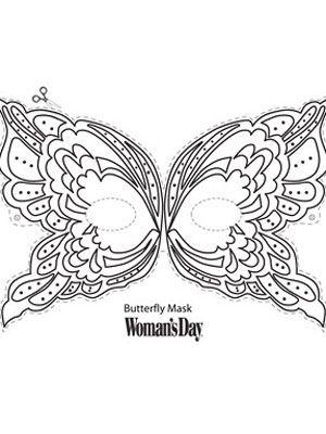 Butterfly Mask...