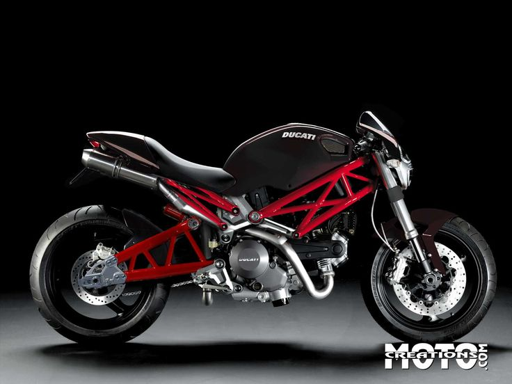 I will have this in 2015.   Ducati monster black red | Ducati Monster 696 Black