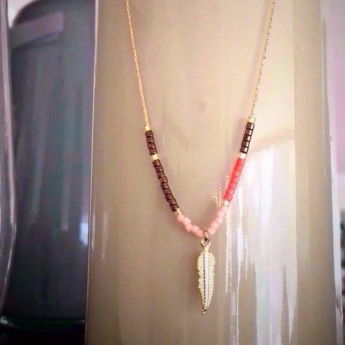 #collar#ElenaUrrutia#color#rosado#cafe#dorado