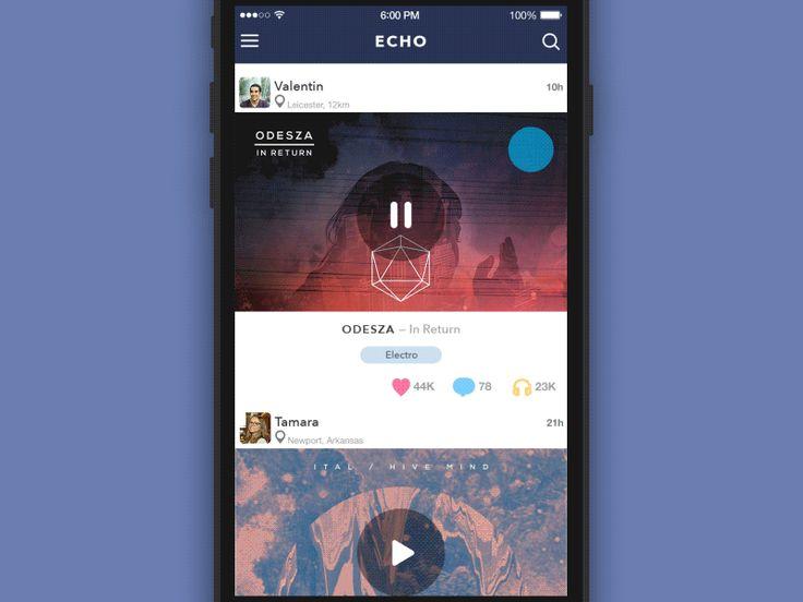 GIF for the ECHO App v2.1 by Sergey Valiukh