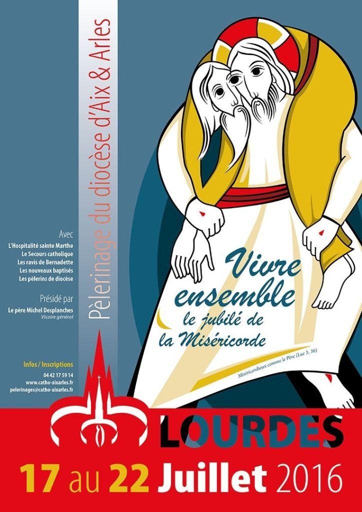 Pèlerinage diocésain à Lourdes du 17 au 22 juillet. Programme (cliquer) Fiche d'inscription (cliquer) Pour tous renseignements : 04 42 42 10 65