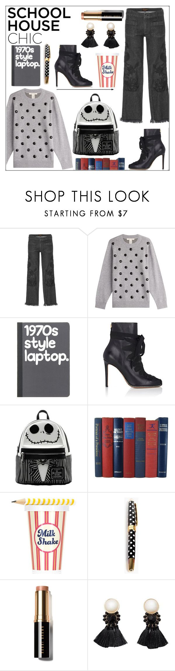 """""""Work Hard, Play Hard: Finals"""" by pat912 ❤ liked on Polyvore featuring The Seafarer, Marc Jacobs, Altuzarra, Kate Spade, Bobbi Brown Cosmetics, MANGO, finals and polyvoreeditorial"""