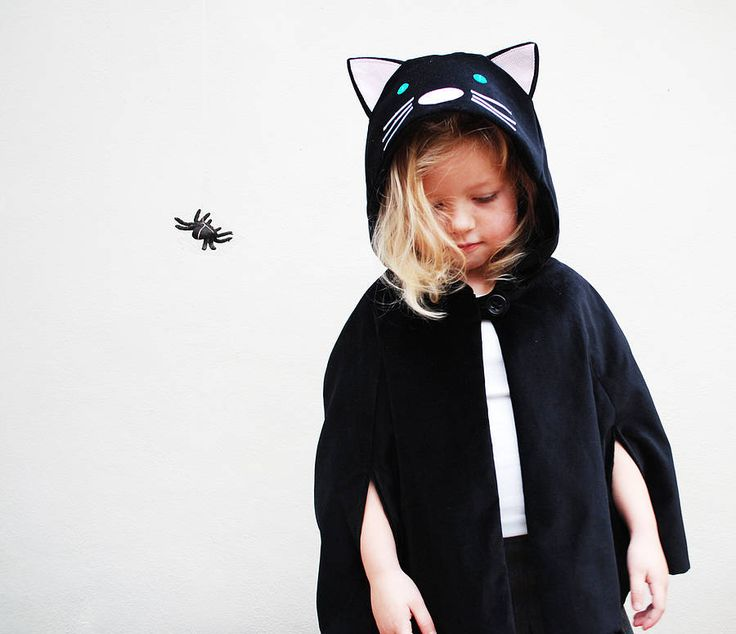 cat cape costume by wild things funky little dresses | notonthehighstreet.com £55