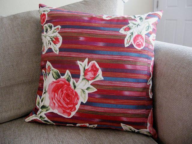 Adventures in Dressmaking: Beautiful bohemian pillows: Tutorial!