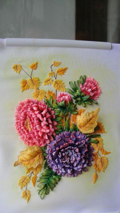 Gallery.ru / Осеннее настроение - мои вышивки лентами - ndzh57