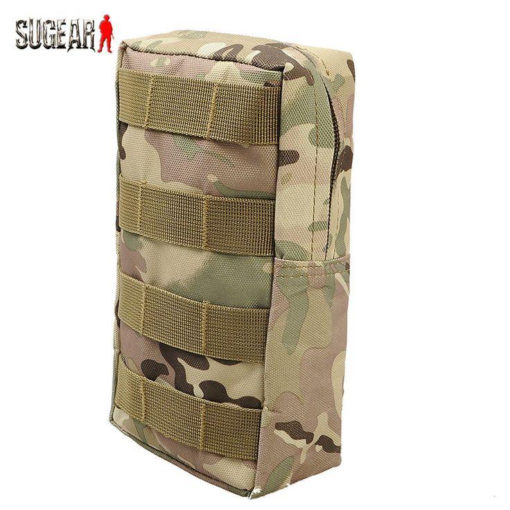 Airsoft Olahraga Militer 600D 21X11.5 CM Rompi Taktis MOLLE Utilitas Pinggang Pouch Bag Untuk Outdoor Berburu Wasit Pack peralatan