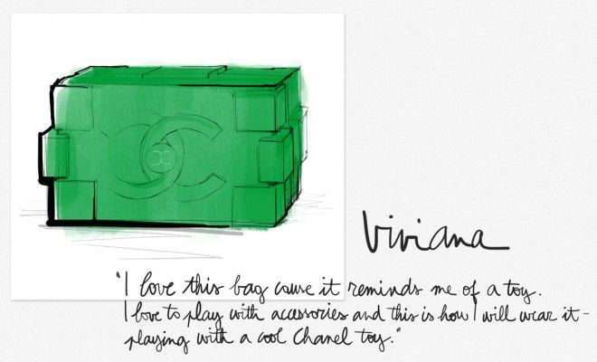 Chanel Lego Bag - Still completely behind in my pre-fashion week preparations, I decided to ask my friends what was on their wish lists this season (which is a little like our back-to-school, except we get it twice a year, yikes!).    I got a lot of responses AND NOW I'M EVEN MORE DEPRESSED after being so...