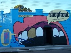 The Shopfront Contemporary Arts Centre in Carlton Parade