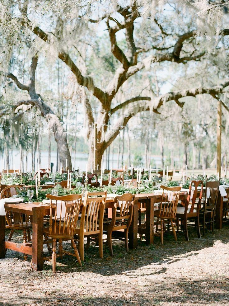 Dreamy Winter Wedding Among The Florida Willow Trees Winter Wedding Decorations Florida Wedding Venues Winter Wonderland Wedding