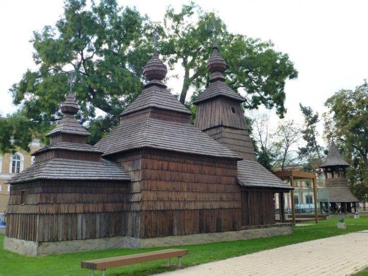 Wooden church, Košice region, Slovakia