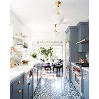 Stunning decorative kitchen filled with detail   Emily Henderson
