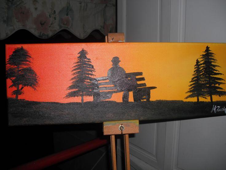 ζωγραφική σε καμβά με λάδι