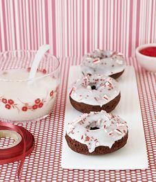Recipe: Peppermint snowdrift cake doughnuts