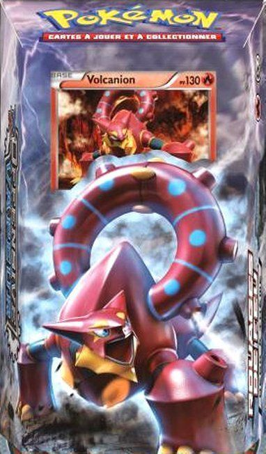 "Pokemon Theme Deck STEAM SIEGE Gears Of Fire ""HOT"" #ThePokemonCompany"