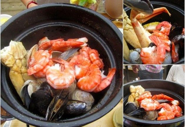 Steam Whistle Pot from Rock Lobster Food in Toronto - http://foodiesinked.com/restaurants/rock-lobster-food/  #food