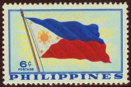 1959, February 8.  Philippine Flag (Adoption of the Philippine Constitution) 6c - Singles, Sheets of 50.