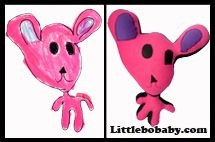 pink teddy plush toy copy