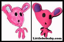 pink teddy plush toy copy