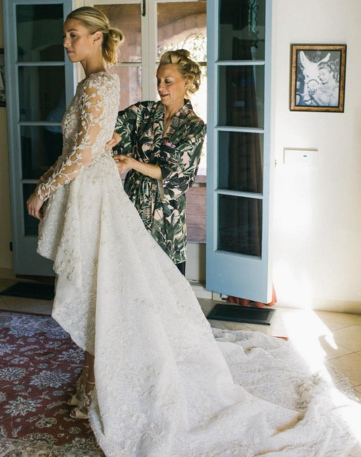 Whitney Port gets married in Ashi Studio