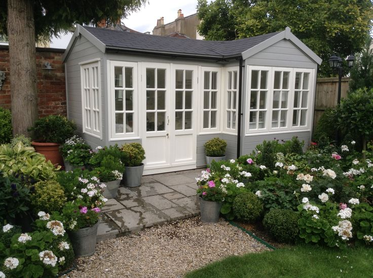 The Summerhouse 14ft x10ft (into bay)x 8ft
